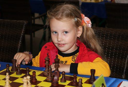 Арина Лебедева - брогзовый призер Кубка Черной пешки в турнире А.