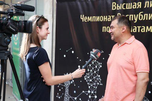 Шестикратный чемпион Беларуси по шахматам Алексей Александров