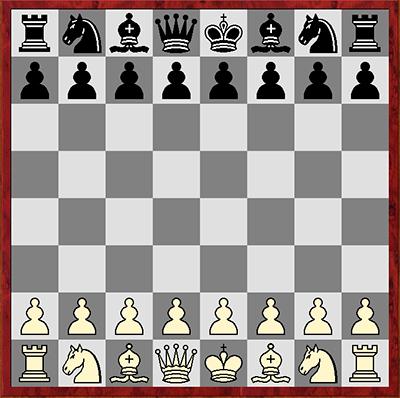 Как правильно расставлять фигуры на шахматной доске